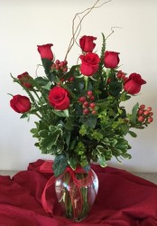 Deluxe Dozen Roses from FlowerCraft in Atlanta, GA