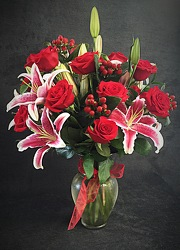 Red Romance from FlowerCraft in Atlanta, GA