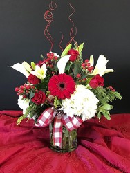 DELUXE CHRISTMAS BOUQUET from FlowerCraft in Atlanta, GA